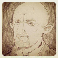 Mike Ehrmantraut The Fixer from Breaking Bad by pickledjo