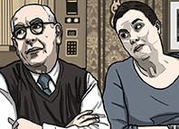 Norris Cole and Mary from Corrie by pickledjo