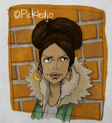 Tina McIntyre Michelle Keegan Corrie by pickledjo