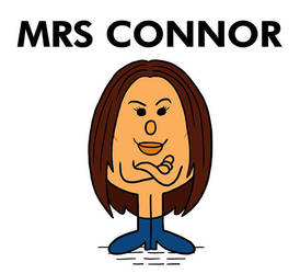 Carla Connor Mr Man Corrie by pickledjo