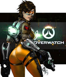 Overwatch - Tracer by nielisson