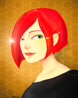 Portrait by Kehmy
