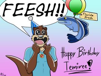 Temiree's Birthday Gift by TahoeWolf