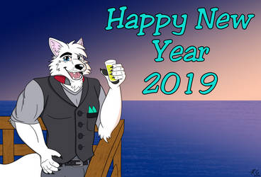 Happy New Year 2019 by TahoeWolf