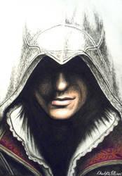 Ezio Auditore da Firenze from Assassin's Creed II by ArtbyCharlotte