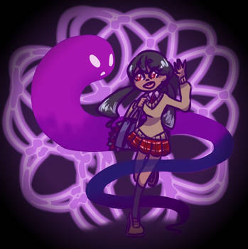 Ghostie Gal by Terristre