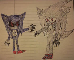 magnum vs metal sonic 2 by shadowthehedgehogzx
