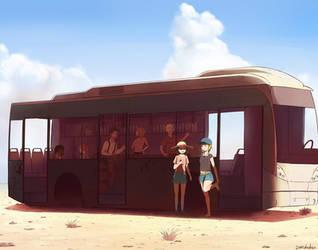 Bus by B4kuhatsu