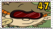 Numbuh 47 fan stamp by pinkandorangesunset