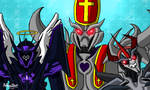 Nicholas,angel and devil but its Decepticons by Flame-Nightmare