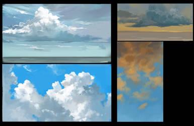 Cloud study by Shionvs
