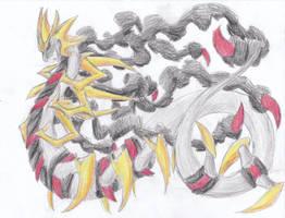 December 23rd 2011: Giratina by UltimateSassMaster