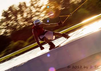 Wakeboarding Nr 1 by bjoernst