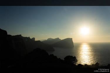 Cap Formentor Sunset by bjoernst