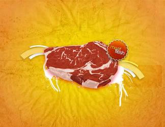 MeatFLESH Yo en carne... by hassmework