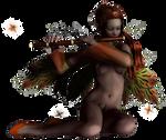 musician faery - faery coll by Umrae-Thara