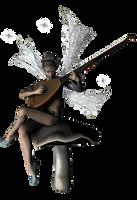 musician faery II - faery coll by Umrae-Thara