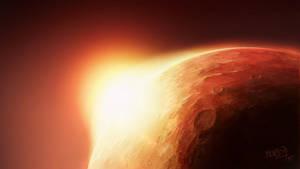 Mars by moodbringer