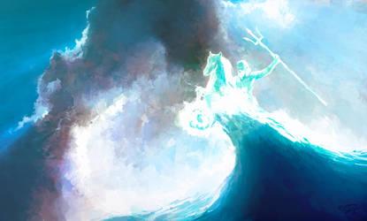 Neptune by moodbringer