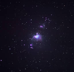 Orion Nebula M42 by moodbringer