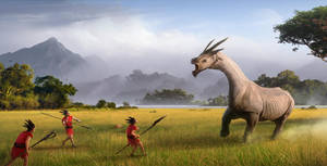 The hunt by jamajurabaev