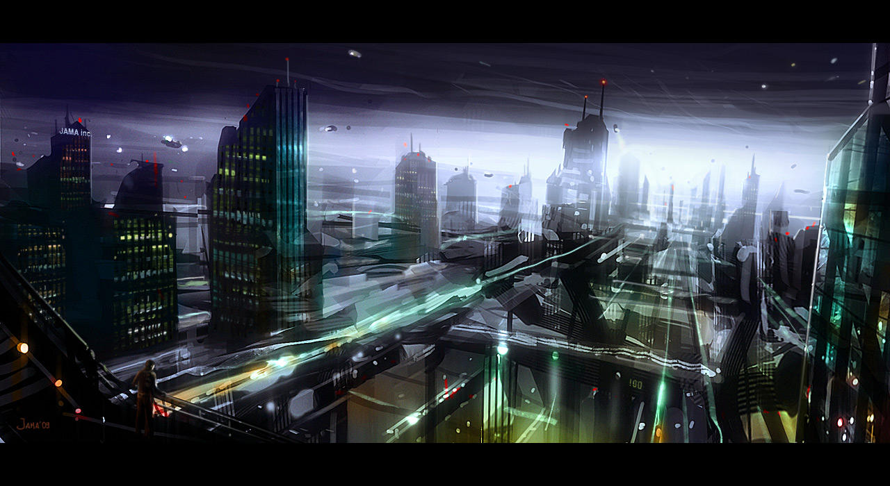 Cityscape by jamajurabaev