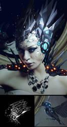 Android girl by jamajurabaev