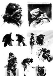 Characters by jamajurabaev
