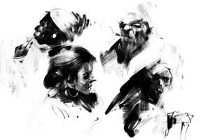 sketches by jamajurabaev