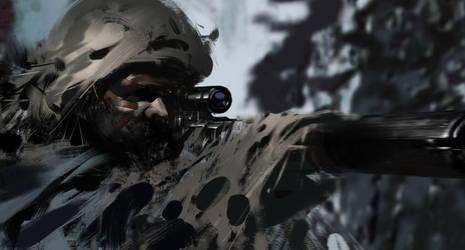 Sniper by jamajurabaev