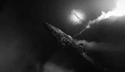 Lost submarine 4 by jamajurabaev