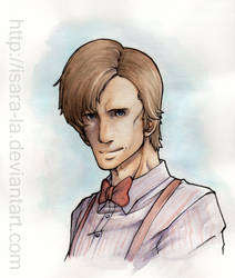 Matt Smith by Isara-La