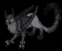 Gyr the Owlish Gryphon by KingJackalope