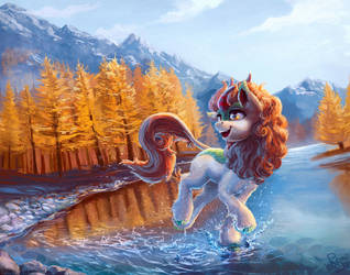 Autumn Blaze by Nemo2D