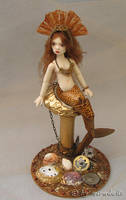BJD Steampunk Mermaid by miradolls