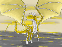 light dragon by Ferania