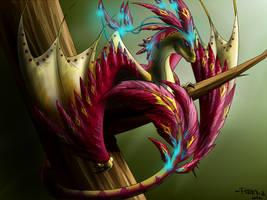 Venomous (commission for PandiiVan) by Ferania