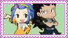 FT Gajeel and Levy Stamp by Fannochka