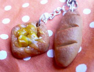 Apple danish + baguette by ochamelon