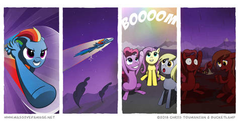 Don't Sonic Rainboom Too Hard by Pandazoic