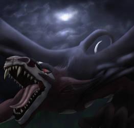 Soaring to Attack :CE by DraconaVampira