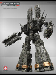 SDF-1 Ares-12 by Yann-S