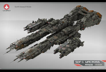 SDF-1 Ares-10 by Yann-S