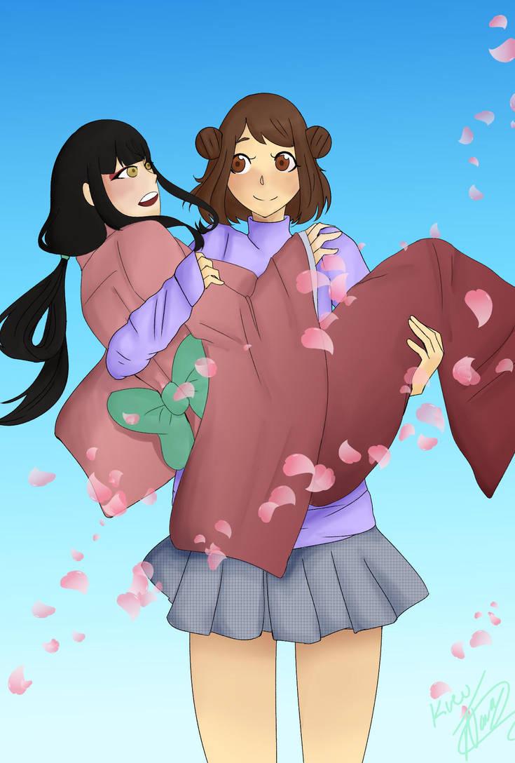 Oc - Tam and Mira by SenpaiOrKouhai