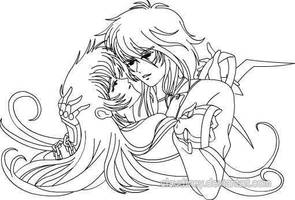 shun and June a Dream of love by Claudiney