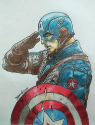 Captain America by YeganehNS
