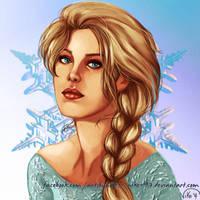 Elsa, queen of Arendelle by NikeMV