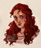 Tessa portrait by NikeMV