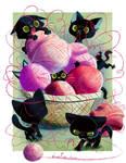 A basket of Awesomeness by JessieDrawz