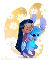 Lilo and Stitch by JessieDrawz